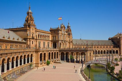 The Paza of Spain of Seville