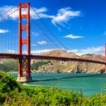 El puente Golden Gate en San Francisco, Estados Unidos