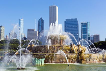 La fuente Buckingham en Chicago, Estados Unidos