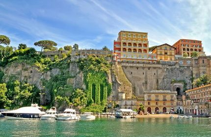Playa de Sorrento, Italia