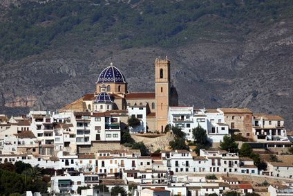 Panoramic of Altea, Espeña