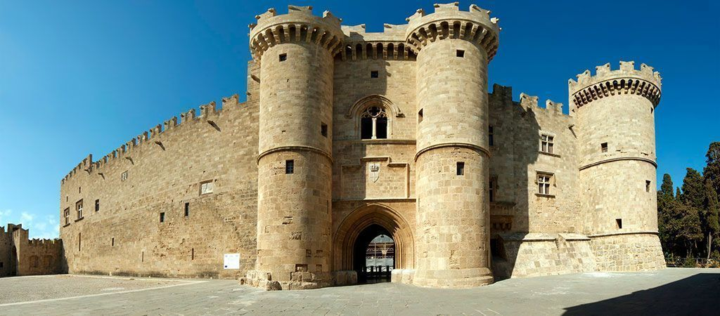 Rhodes - Gate of the Marina, entrance to the city