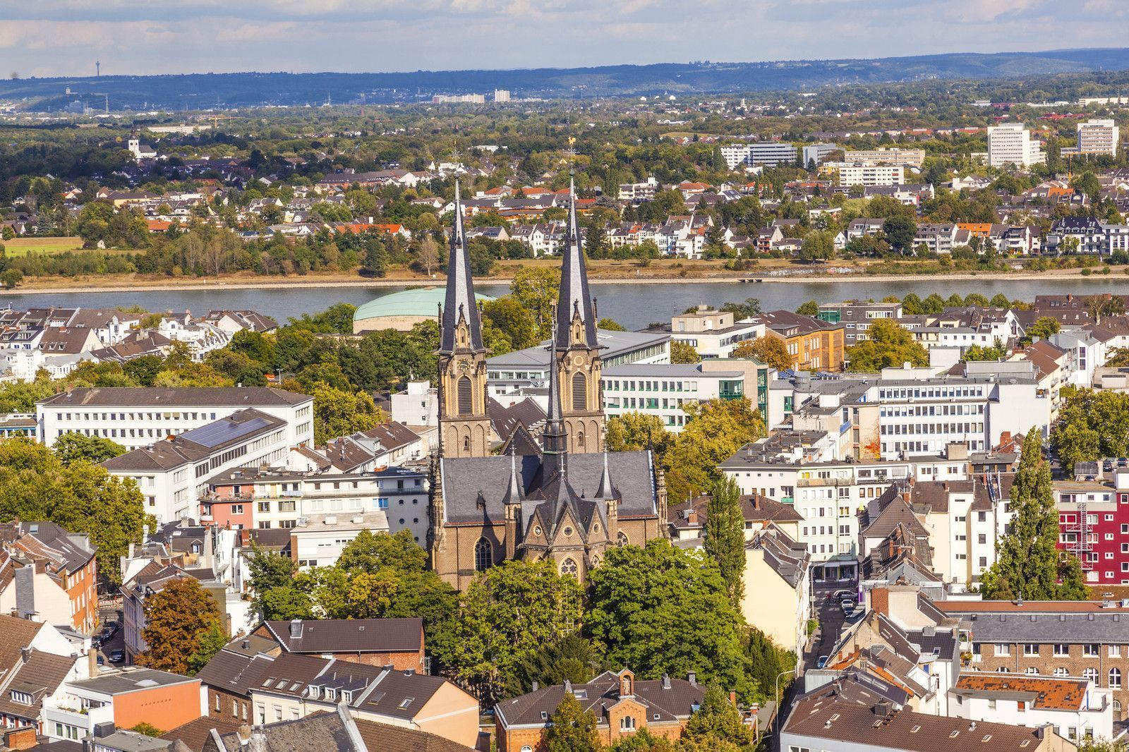 Bonn - Panoramic by the Rhine