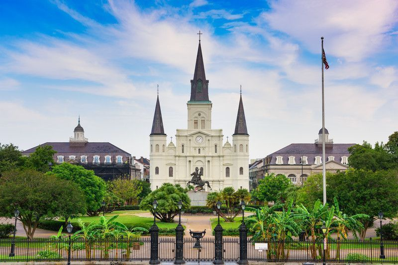 Cattedrale di St. Louis a New Orleans