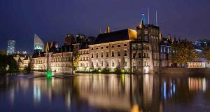 Binnenhof City Hall The Hague Netherlands